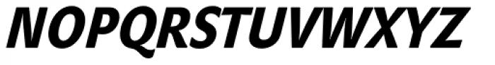 John Sans Cond Heavy Italic Font UPPERCASE