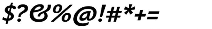 John Sans Text Bold Italic Font OTHER CHARS