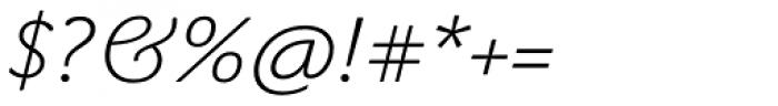 John Sans White Italic Font OTHER CHARS