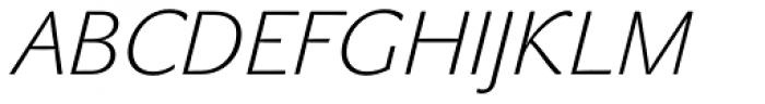 John Sans White Italic Font UPPERCASE