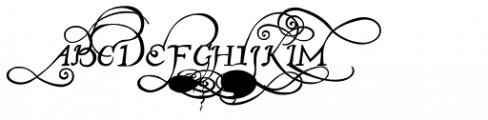 John Speed Ornamental Font UPPERCASE