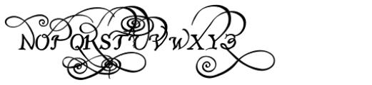 John Speed Font UPPERCASE