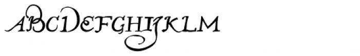 John Speed Font LOWERCASE