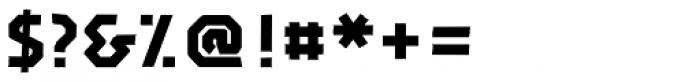 John Tape Plain Font OTHER CHARS