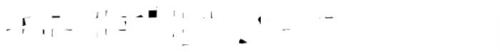 John Tapextra Regular Overlap Font LOWERCASE
