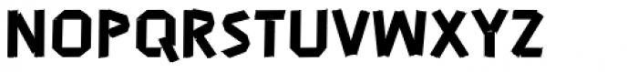 John Tapextra Regular Font UPPERCASE