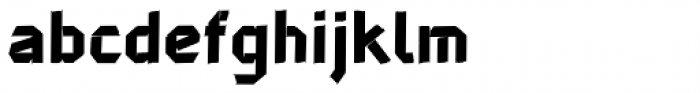John Tapextra Regular Font LOWERCASE
