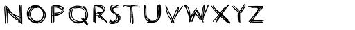 Johnend Font UPPERCASE