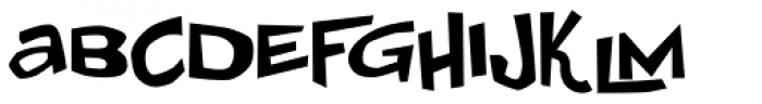 Johnny Lunchpail Font UPPERCASE