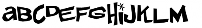 Johnny Lunchpail Font LOWERCASE