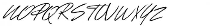 Johnson Rock Italic Font UPPERCASE