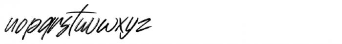 Johnson Rock Italic Font LOWERCASE