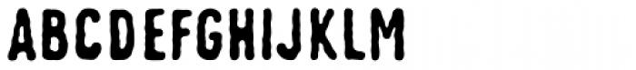 Johnstemp Pro Bold Font UPPERCASE