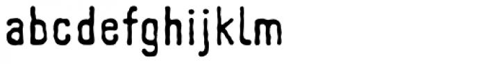 Johnstemp Pro Medium Font LOWERCASE