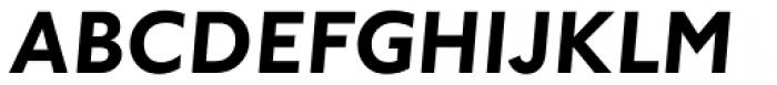 Johnston Bold Italic OS Font UPPERCASE