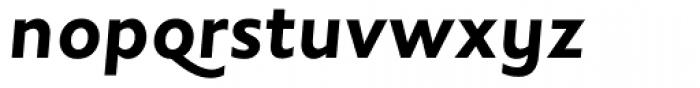 Johnston Bold Italic OS Font LOWERCASE