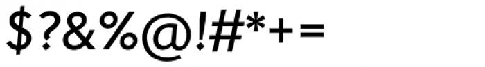 Johnston Pro Medium Italic Font OTHER CHARS