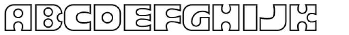 Joker Outline Font UPPERCASE