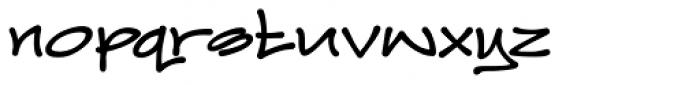 Joker Straight Letter Bold Regular Font LOWERCASE