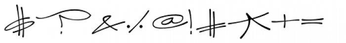 Joker Straight Letter Light Swash Caps A Font OTHER CHARS