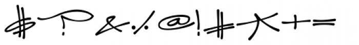 Joker Straight Letter Medium Swash Caps A Font OTHER CHARS