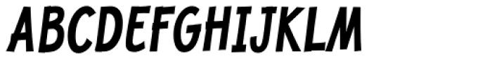 Jolly Good Proper Condensed Bold Italic Font UPPERCASE
