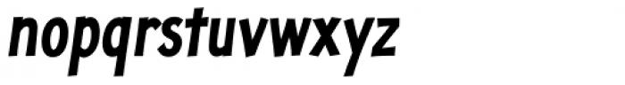 Jolly Good Proper Condensed Bold Italic Font LOWERCASE