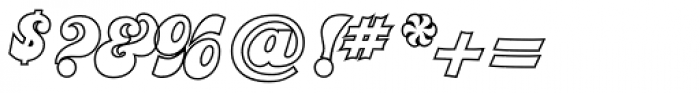 Jolly Roger Naked Font OTHER CHARS