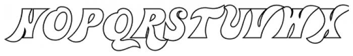 Jolly Roger Naked Font UPPERCASE
