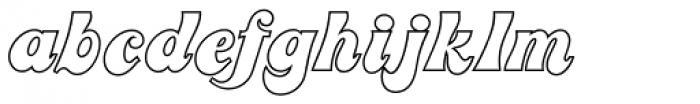 Jolly Roger Naked Font LOWERCASE