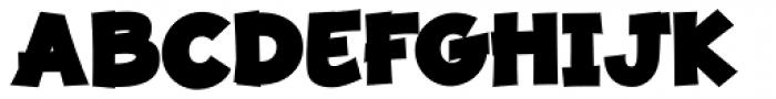 JollyGood Proper Black Font UPPERCASE