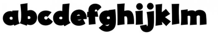 JollyGood Proper Black Font LOWERCASE