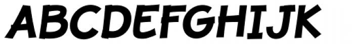 JollyGood Proper Bold Italic Font UPPERCASE