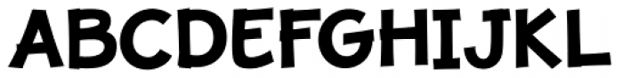 JollyGood Proper Bold Font UPPERCASE
