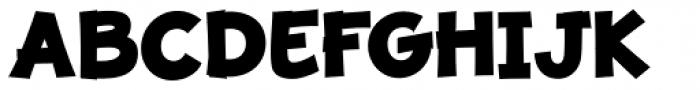 JollyGood Proper Extra Bold Font UPPERCASE