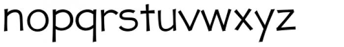 JollyGood Proper Light Font LOWERCASE