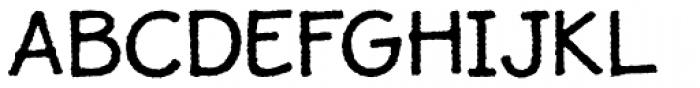 JollyGood Proper Rough Font UPPERCASE