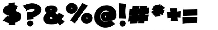 JollyGood Proper Unicase Black Font OTHER CHARS