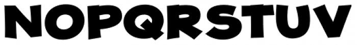 JollyGood Proper Unicase Black Font UPPERCASE