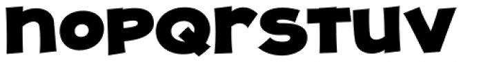 JollyGood Proper Unicase Black Font LOWERCASE