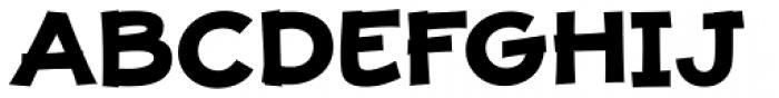 JollyGood Proper Unicase Bold Font UPPERCASE