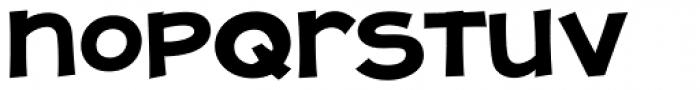 JollyGood Proper Unicase Bold Font LOWERCASE