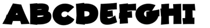 JollyGood Proper Unicase Extra Black Font UPPERCASE