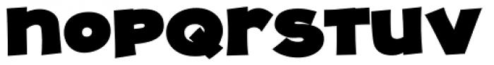 JollyGood Proper Unicase Extra Black Font LOWERCASE