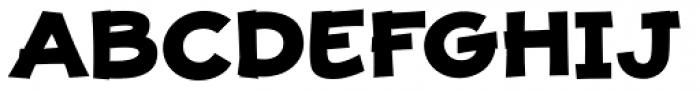 JollyGood Proper Unicase Extra Bold Font UPPERCASE