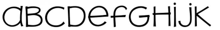 JollyGood Proper Unicase Light Font LOWERCASE