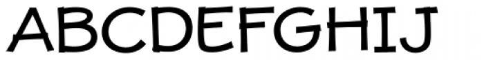 JollyGood Proper Unicase Regular Font UPPERCASE