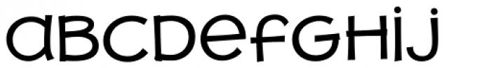 JollyGood Proper Unicase Regular Font LOWERCASE