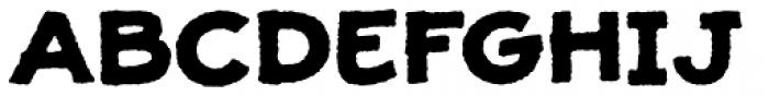 JollyGood Proper Unicase Rough Bold Font UPPERCASE