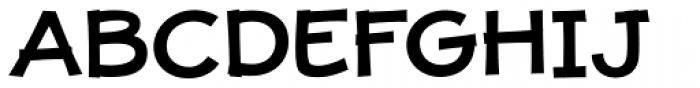 JollyGood Proper Unicase Semi Bold Font UPPERCASE